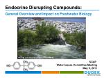 endocrine disrupting compounds