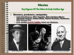 movies key figures of the silent early golden age1