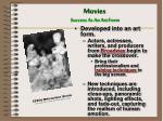 movies success as an art form1