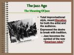 the jazz age the meaning of jazz