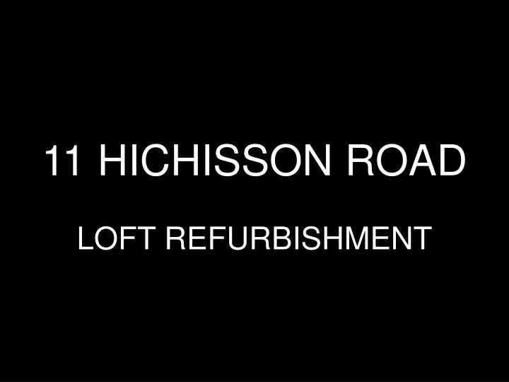 11 hichisson road n.