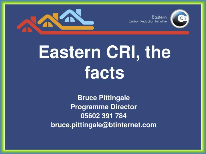 eastern cri the facts n.