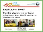 local launch events