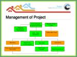 management of project