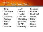 tools tools tools