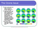 the ozone issue8
