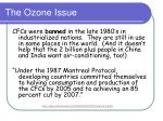 the ozone issue9