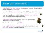british gas involvement