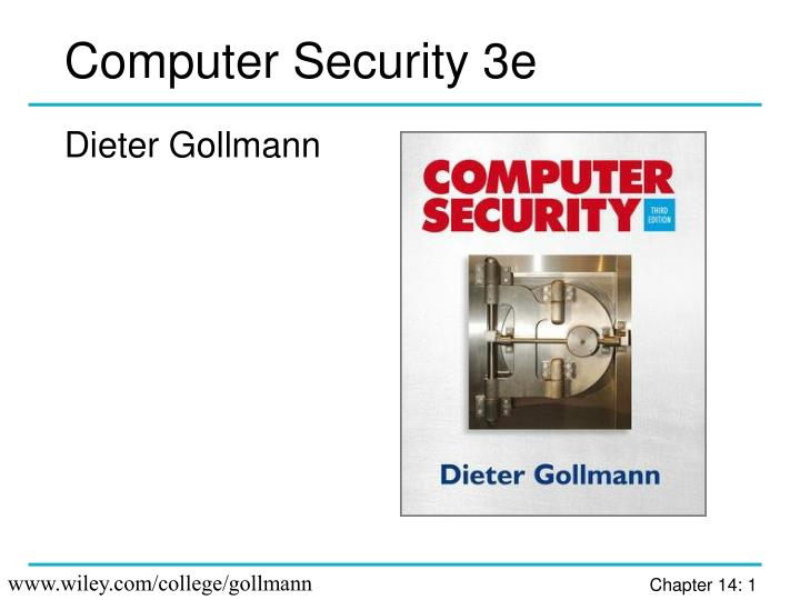 computer security 3e n.