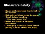 glassware safety