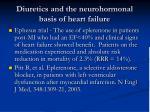 diuretics and the neurohormonal basis of heart failure1