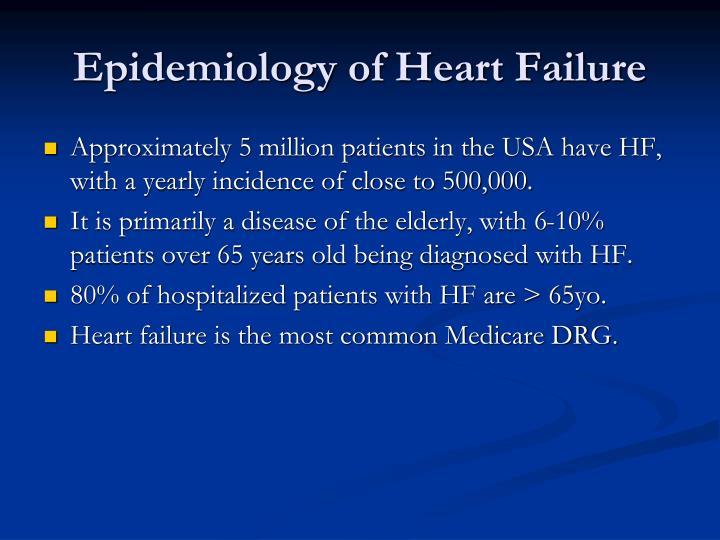Epidemiology of Heart Failure