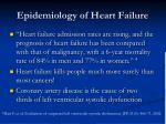 epidemiology of heart failure2