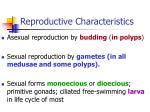 reproductive characteristics