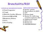 bronchiolitis rsv1