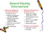 general nursing interventions1