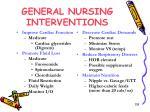 general nursing interventions2