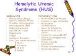 hemolytic uremic syndrome hus2