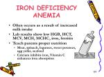 iron deficiency anemia1