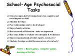 school age psychosocial tasks