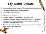 tay sachs disease