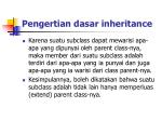 pengertian dasar inheritance2