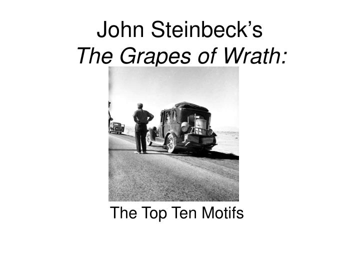 john steinbeck s the grapes of wrath n.