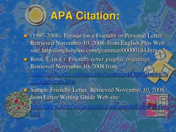 APA Citation: