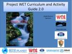 project wet curriculum and activity guide 2 0