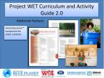 project wet curriculum and activity guide 2 06