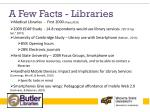 a few facts libraries