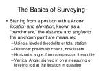 the basics of surveying1