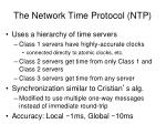 the network time protocol ntp