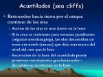 acantilados sea cliffs