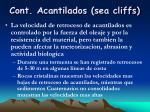 cont acantilados sea cliffs