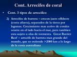 cont arrecifes de coral