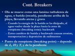 cont breakers