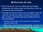 refraccion de olas