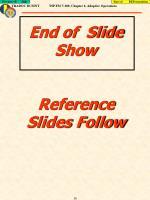 end of slide show reference slides follow