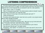 listening comprehension13
