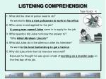 listening comprehension14