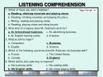 listening comprehension3