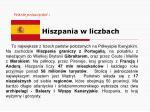 warto przeczyta hiszpania w liczbach