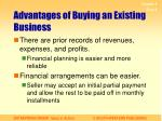 advantages of buying an existing business1