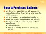 steps to purchase a business1