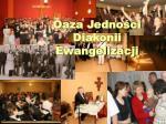 oaza jedno ci diakonii ewangelizacji