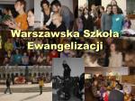 warszawska szko a ewangelizacji