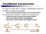 treesketch construction