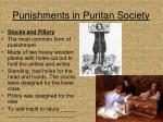 punishments in puritan society