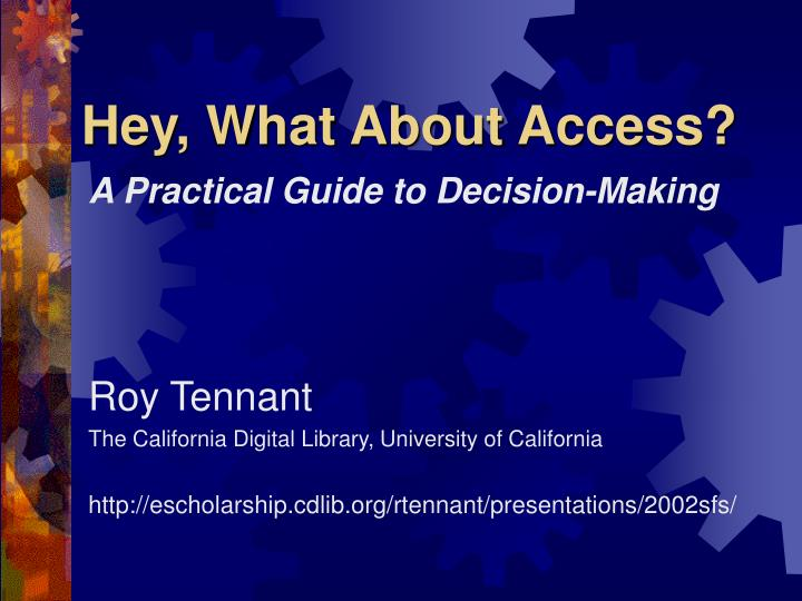 hey what about access n.